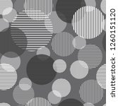 seamless geometric pattern with ... | Shutterstock .eps vector #1260151120