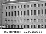 old building facade view in... | Shutterstock . vector #1260160396