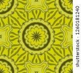 abstract vector seamless... | Shutterstock .eps vector #1260181240
