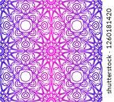 seamless modern pattern. art... | Shutterstock .eps vector #1260181420