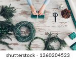 hands of cropped unrecognisable ...   Shutterstock . vector #1260204523
