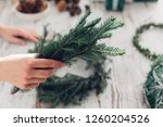 hands of cropped unrecognisable ...   Shutterstock . vector #1260204526