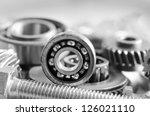 mechanical ratchets | Shutterstock . vector #126021110