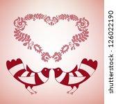 igaz szerelem   true love | Shutterstock .eps vector #126022190
