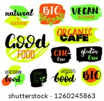 vegeterian  bio  ecology ...   Shutterstock .eps vector #1260245863