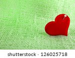 valentine's day red heart... | Shutterstock . vector #126025718