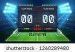 stadium electronic sports...   Shutterstock . vector #1260289480