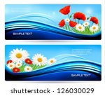 Nature Banners With Color...