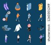 wearable technology smart...   Shutterstock .eps vector #1260301249