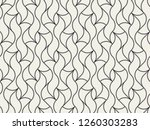 seamless linear pattern with... | Shutterstock .eps vector #1260303283