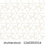 abstract geometric pattern with ... | Shutterstock .eps vector #1260303316