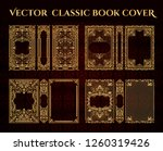 vector classical book cover.... | Shutterstock .eps vector #1260319426