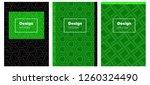 light green vector brochure for ...