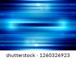 blue technology abstract motion ... | Shutterstock . vector #1260326923