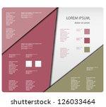 modern soft color design... | Shutterstock .eps vector #126033464