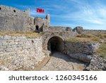 ruins of rozafa castle and... | Shutterstock . vector #1260345166