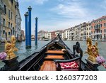 photograph of the canals and... | Shutterstock . vector #1260377203