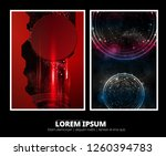 abstract technology concept... | Shutterstock .eps vector #1260394783