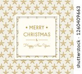merry christmas and happy new...   Shutterstock .eps vector #1260409663