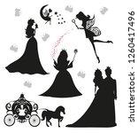 set of illustrations of... | Shutterstock . vector #1260417496