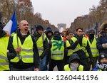 paris   france   december 15...   Shutterstock . vector #1260441196