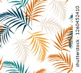 fashion night style jungle...   Shutterstock .eps vector #1260452410