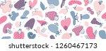 vector abstract creative... | Shutterstock .eps vector #1260467173
