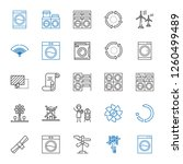 rotate icons set. collection of ... | Shutterstock .eps vector #1260499489