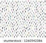 lot of different people... | Shutterstock .eps vector #1260542386