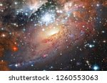 nebulae an interstellar cloud... | Shutterstock . vector #1260553063