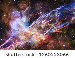 nebula an interstellar cloud of ... | Shutterstock . vector #1260553066