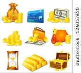 vector illustration of business ...   Shutterstock .eps vector #126057620