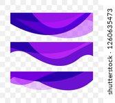 set abstract vector background  ... | Shutterstock .eps vector #1260635473