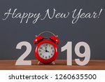new year concepts countdown... | Shutterstock . vector #1260635500