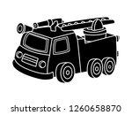 black and white line art  a...   Shutterstock .eps vector #1260658870