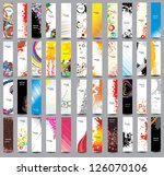 collection vertical banners | Shutterstock .eps vector #126070106