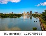 Skyline Of Rochester  New York...