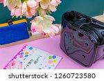 congratulatory gift image of... | Shutterstock . vector #1260723580