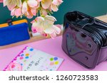 congratulatory gift image of... | Shutterstock . vector #1260723583