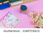 congratulatory gift image of... | Shutterstock . vector #1260723613