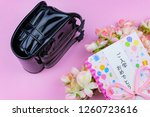 congratulatory gift image of... | Shutterstock . vector #1260723616