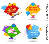illustration of happy makar... | Shutterstock .eps vector #1260753469