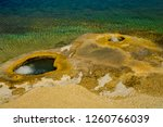 this geyser is actually in... | Shutterstock . vector #1260766039