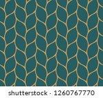 vector ornamental seamless...   Shutterstock .eps vector #1260767770