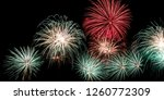 fireworks in the sky image | Shutterstock . vector #1260772309
