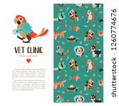 template leaflets  promotional... | Shutterstock .eps vector #1260774676