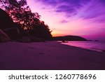 sky before sunrise. the color... | Shutterstock . vector #1260778696