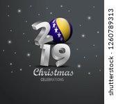 bosnia and herzegovina flag... | Shutterstock .eps vector #1260789313