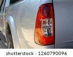 rear light of the pickup  car ... | Shutterstock . vector #1260790096