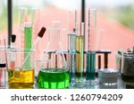 set of chemical tube... | Shutterstock . vector #1260794209